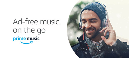 Ad-free music on-the-go