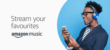 Stream your favourites Prime Music