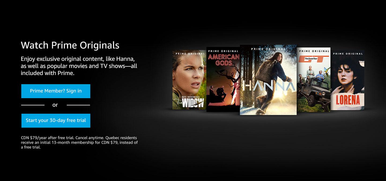 Amazon prime free video streaming