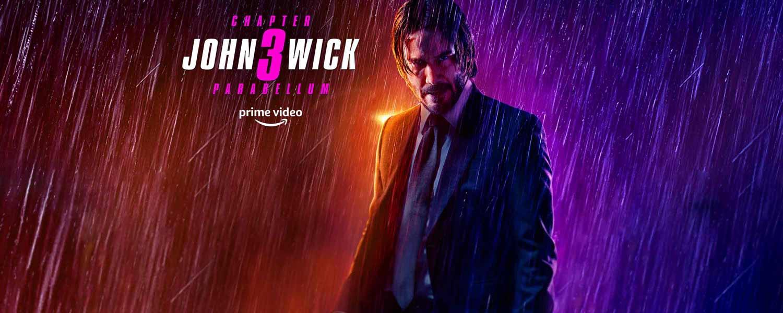 John Wick: 3. Prime Video.