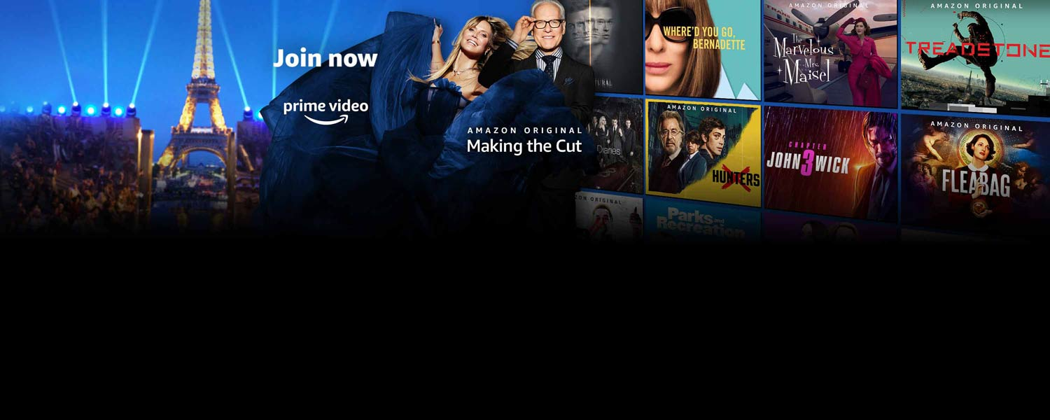 Join now. Prime Video.