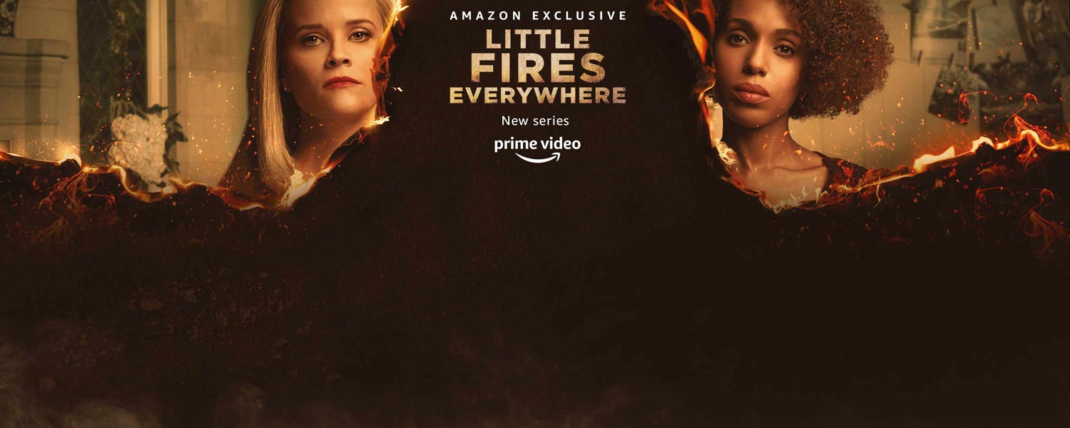 Amazon Exclusive. Little Fires Everywhere. New series. Prime Video.