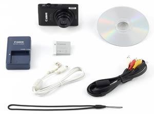 Canon ELPH 300 HS Box Contents