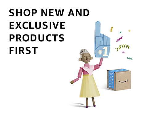 Shop New and Exclusive Products First