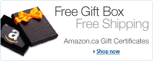 Amazon.ca Gift Certificate Gift Box