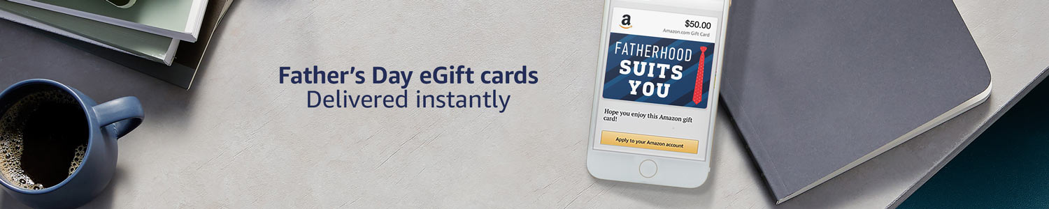 Father's Day eGift Cards Delivered Instantly