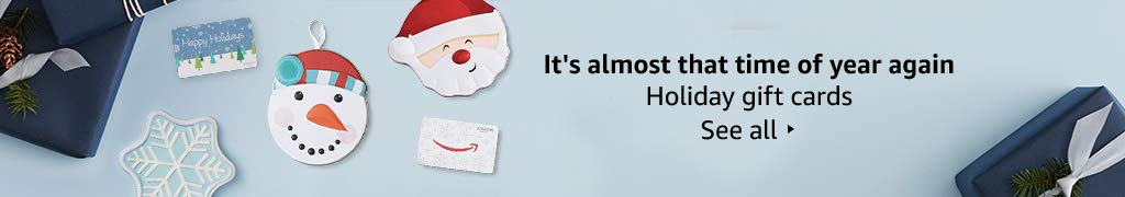 It's almots that time of the year again. Holiday gift cards