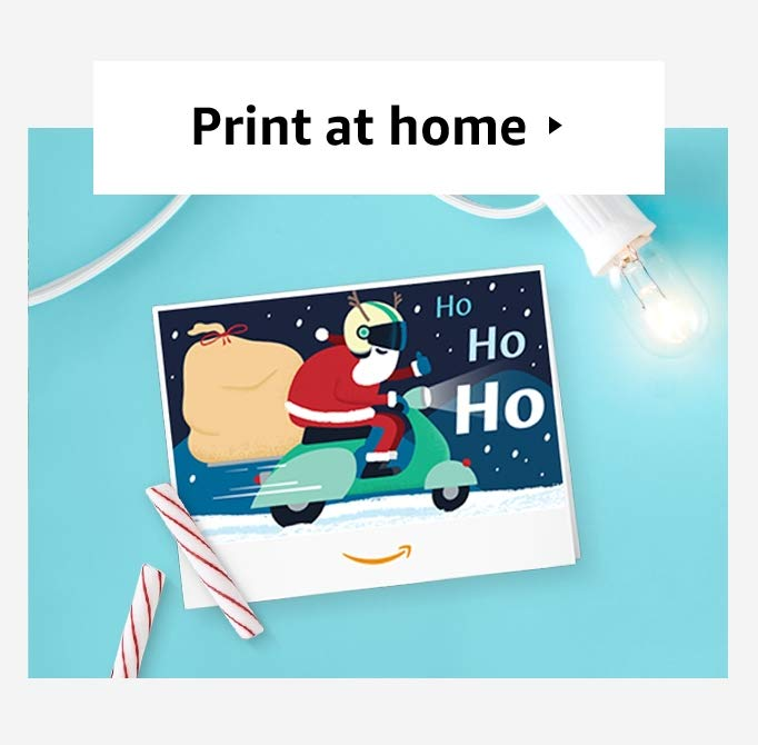 Image for Print-at-Home holiday gift cards
