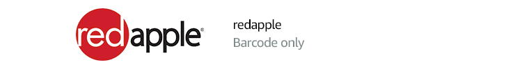 red apple | Barcode only