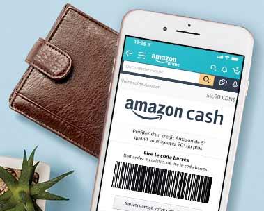 Profitez d'un crédit Amazon de 5 $