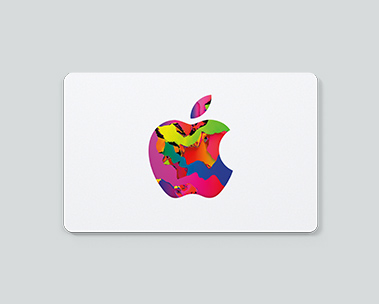 One gift card. All of Apple.