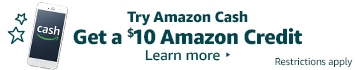 Try Amazon Cash and receive a $10 Amazon.ca