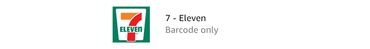 7-Eleven | Barcode only