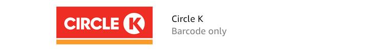 Circle K | Barcode only