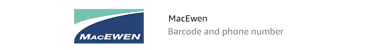 MacEwen: Barcode and phone number