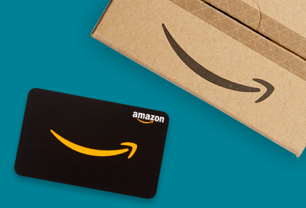 Image of physical gift card