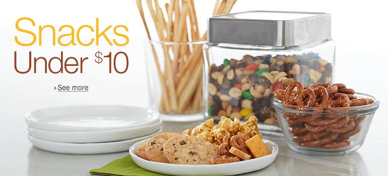 Snack Food Under $10