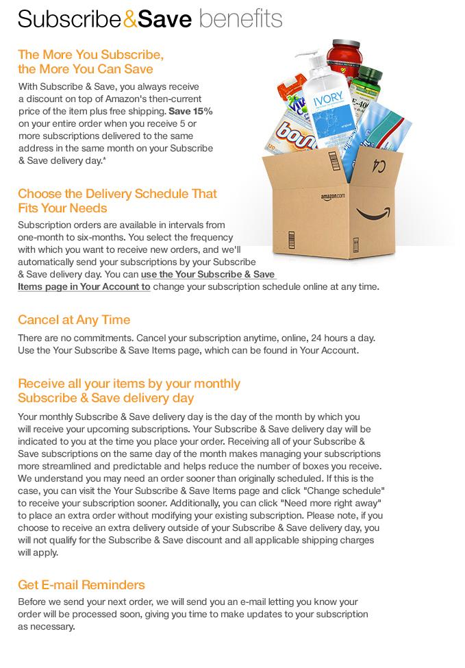 Amazon Ca Subscribe Amp Save