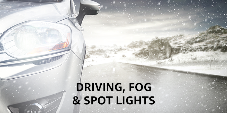 Driving, Fog & Spotlights