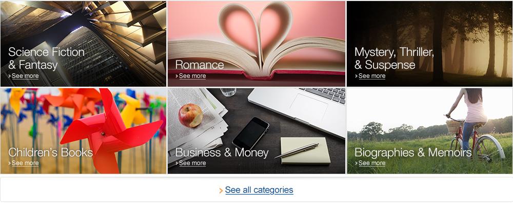 Kindle Unlimited Categories