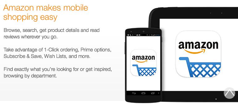Amazon App: features