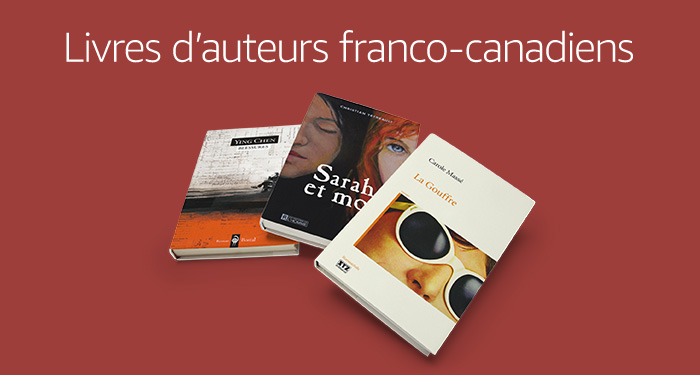 Livres d'auteurs franco-canadiens