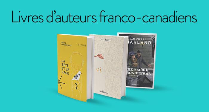 Livres d'auteurs franco-canadiens