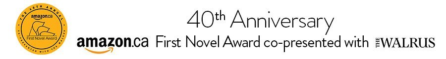 First Novel Award co-presented with The Walrus