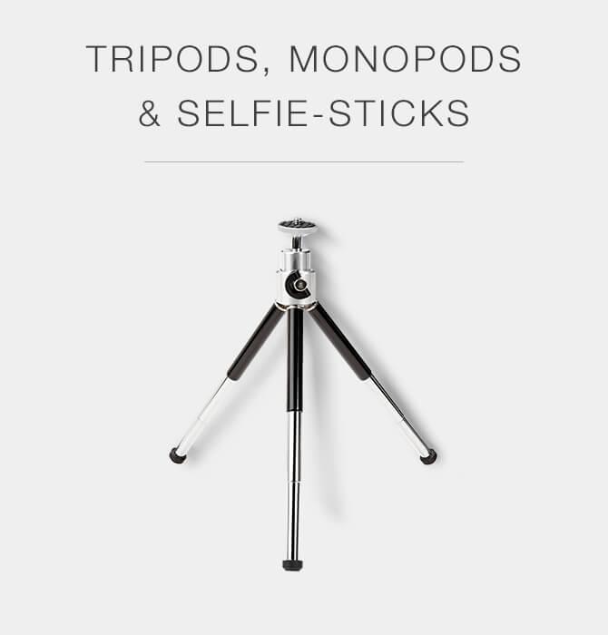 Tripos, Monopods, & Selfie-Sticks