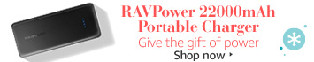 RAVPower 2200mAh Portable Charger