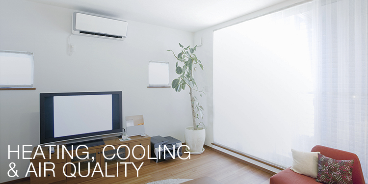 heating, cooling & air quality