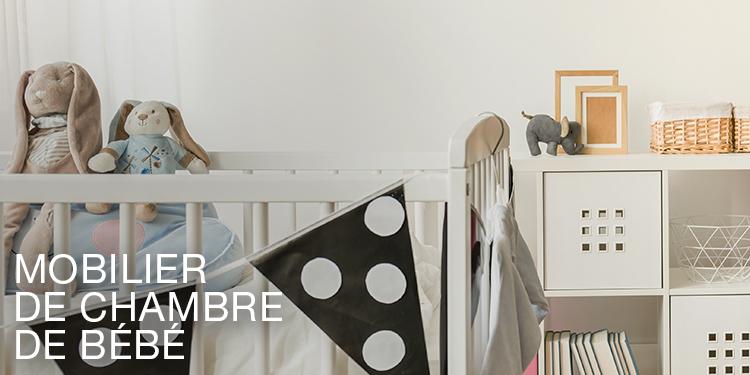 Mobilier de chambre de bébé