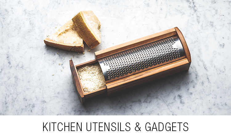 Kitchen utensils and gadgets