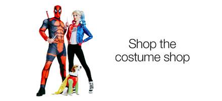 Shop the costume shop