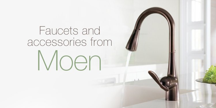 Faucets and accessories from Moen