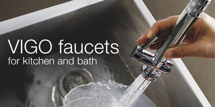 VIGO faucets for kitchen and bath