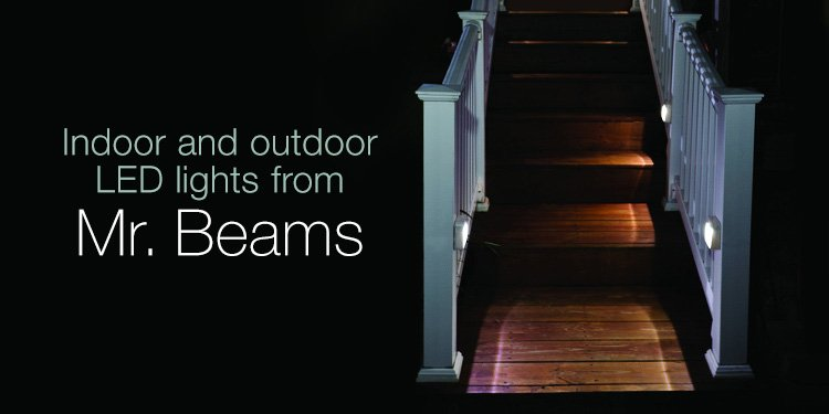 Indoor and outdoor lights from Mr. Beams
