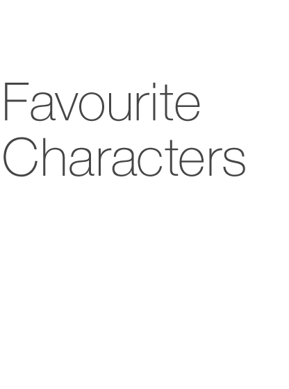 Favourite Characters