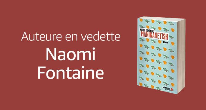 Auteure en vedette : Naomi Fontaine