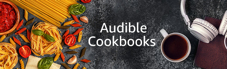 Audible Cookbooks