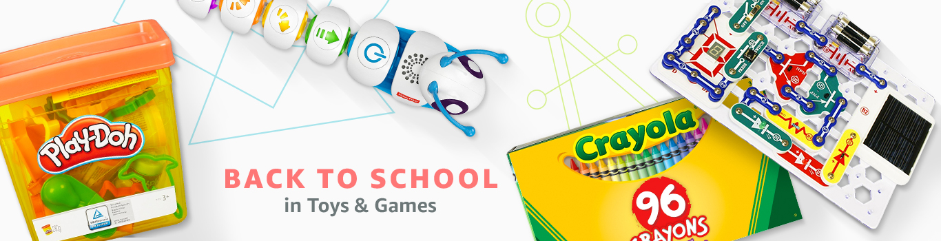 Back to School in Toys & Games