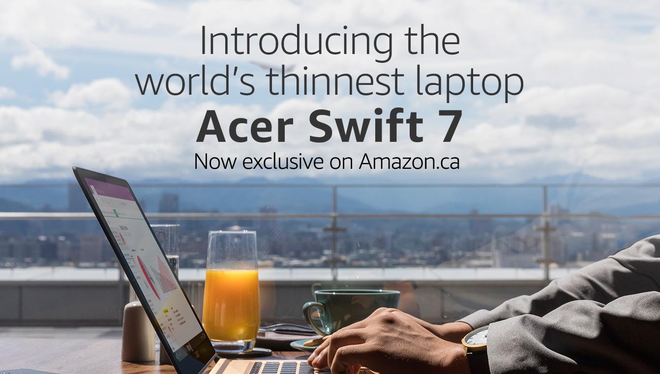 Create amazon ca account - Acer Swift 7