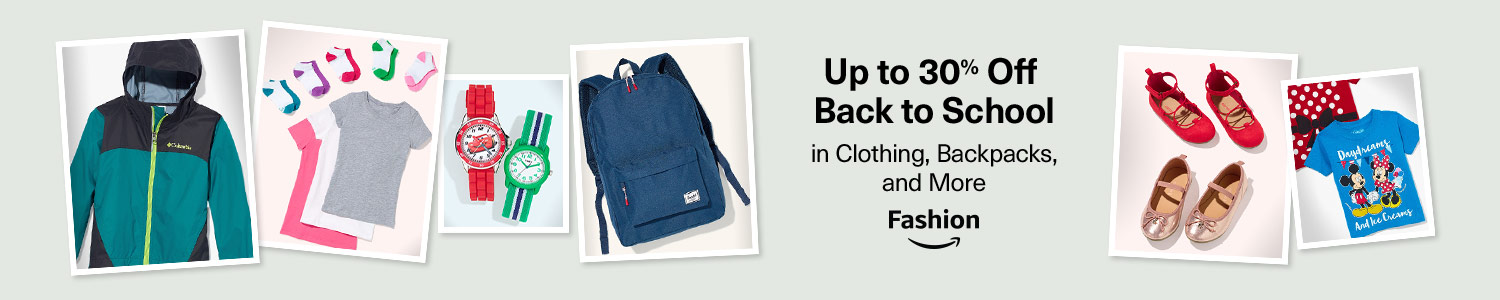Up to 30% off back to school