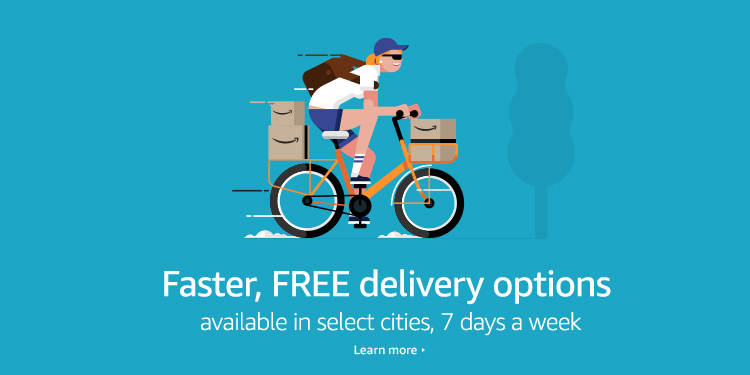 Faster Free delivery options