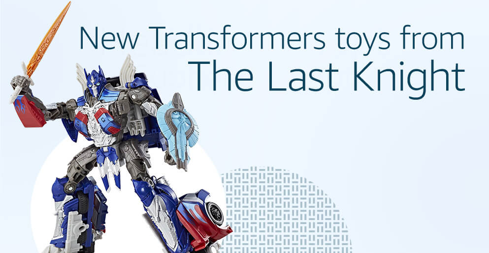 New Transformers toys