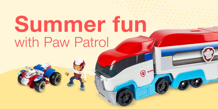 Summer fun with Paw Patrol