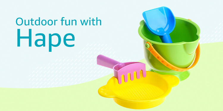 Outdoor fun with Hape