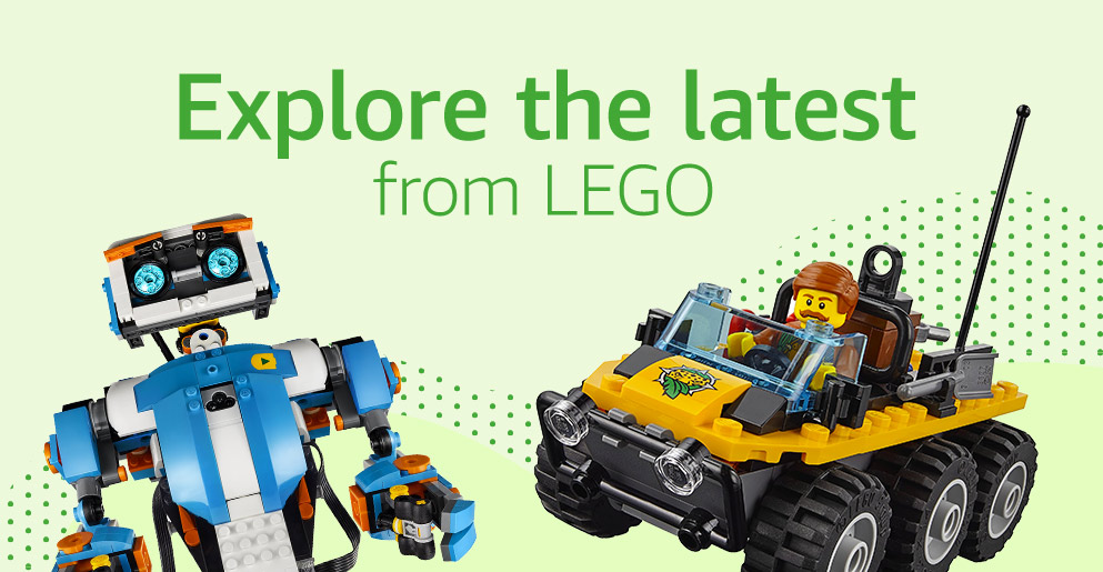 Explore the latest from LEGO
