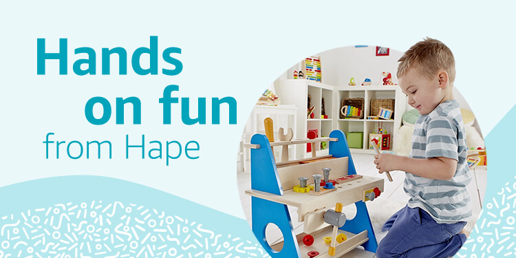 Hands on fun from Hape