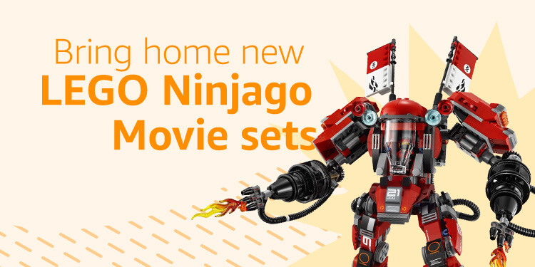 New LEGO Ninjago Movie Sets